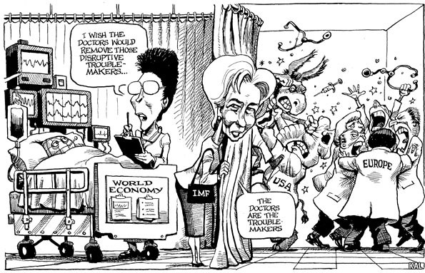 This Cartoon is from The Economist -0